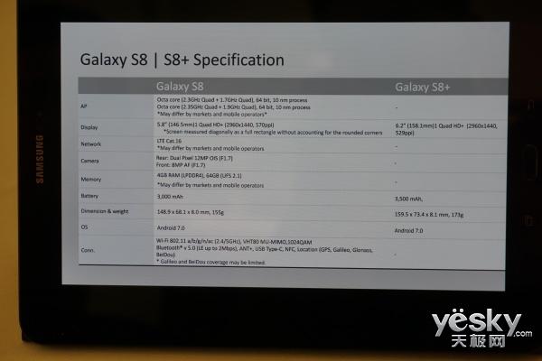 三星S8+和三星S8有哪些不同?S8+和S8哪个好