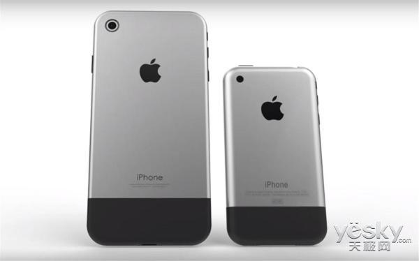 致敬第一代iPhone!苹果新机或采用复古设计