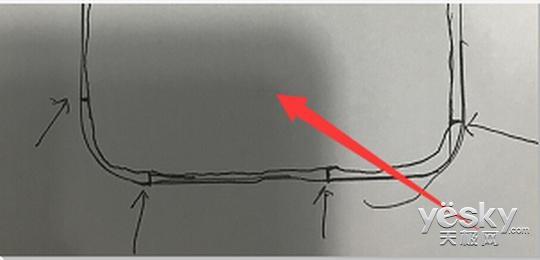 富士康员工手绘i8设计草图曝光:垂直双摄