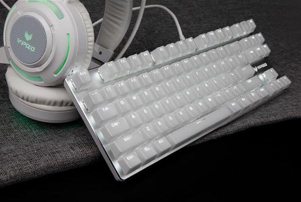 清凉唯美一键倾心  雷柏V500S冰晶版热销