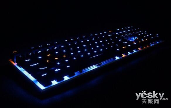 达尔优108键机械合金版键盘 游戏更顺畅痛快