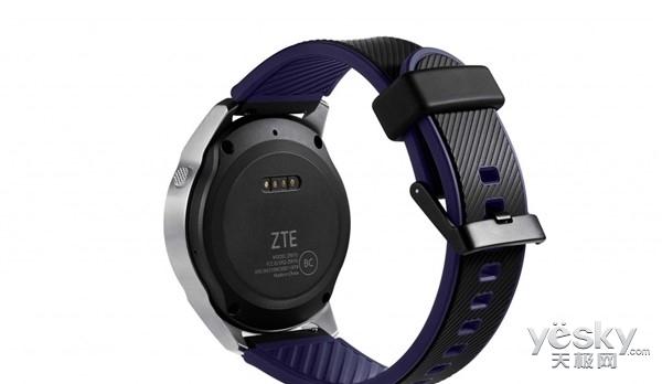 主打高颜值 中兴发布首款智能手表Quartz