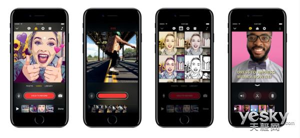 苹果应用Clips下载超100万 中国下载量第二