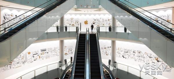 定了!苹果阿联酋第三家零售店27日开放营业