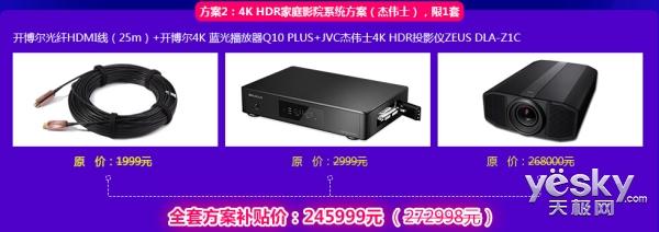 好消息!开博尔百米光纤HDMI线2.0版免费申请