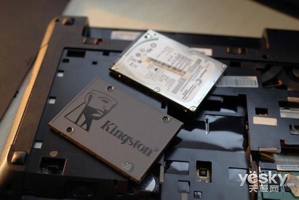 老笔记本换固态硬盘延金士顿A400 复活体验