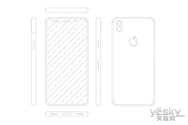iPhone 8外形确定:全面屏这次没得跑了