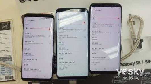 三星回应新旗舰GalaxyS8屏幕泛红问题:安啦