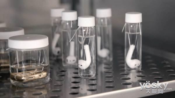 苹果每天生产半加仑假汗液用于产品测试