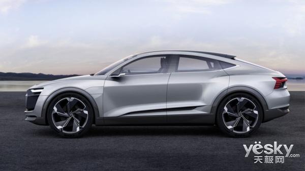 上海车展:奥迪E-Tron Sportback概念车亮相