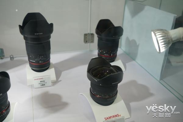 P&E2017:三阳SAMYANG 副厂镜头 卓越品质