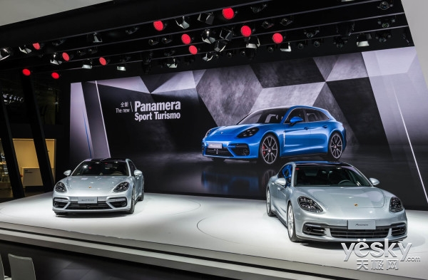 2017上海车展震撼首发: 三款保时捷Panamera