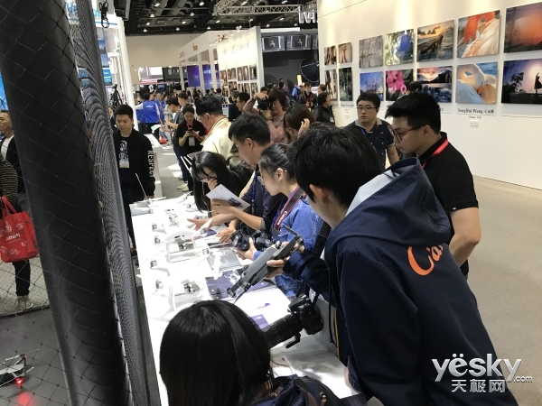 P&E 2017:大疆专业与民用无人机横空降临