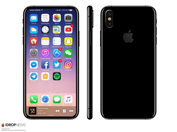 都错了?传苹果今年直奔iPhone 8/8 Plus