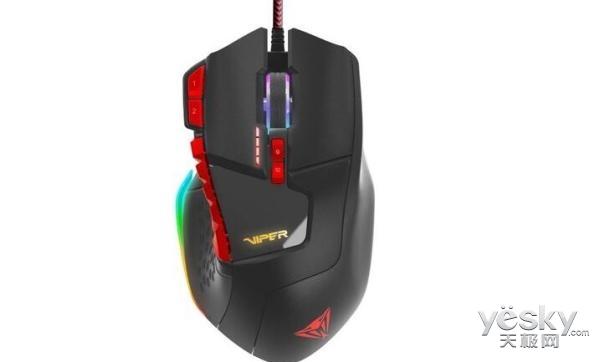 游戏鼠标 Viper V570专为MMO类型游戏设计