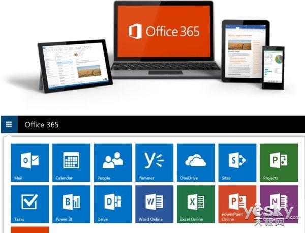Office 365里程碑:企业月活跃用户超过1亿