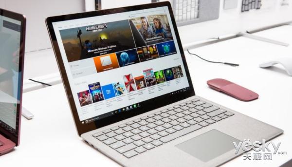 苹果对手?微软发布Surface Laptop笔记本