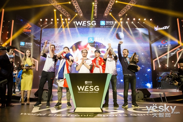 世界电子竞技:WESG亮相纽约时代广场