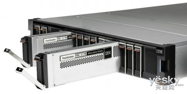 跟SAS和SATA硬盘说再见 IBM要用NVMe取代