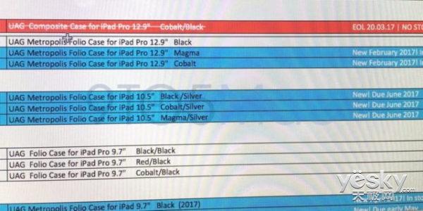 全新10.5��iPad Pro下月或上市 WWDC发布?