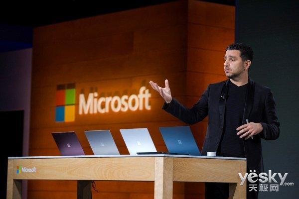 新专利!微软SurfacePro5平板或支持边缘触控