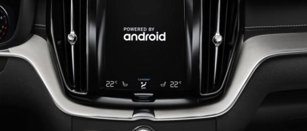 沃尔沃正在使用Android作为其新的信息娱乐系统