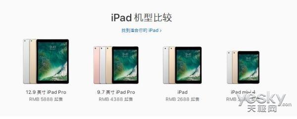 传7.9英寸平板iPad mini将停产 发力iPadPro
