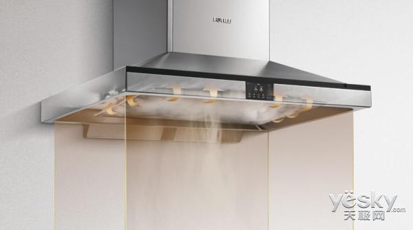 厨房的空气管家 方太CXW-200-EM10T油烟机