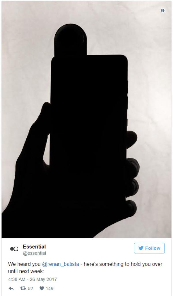 Android之父5月30发布神秘无边框新机