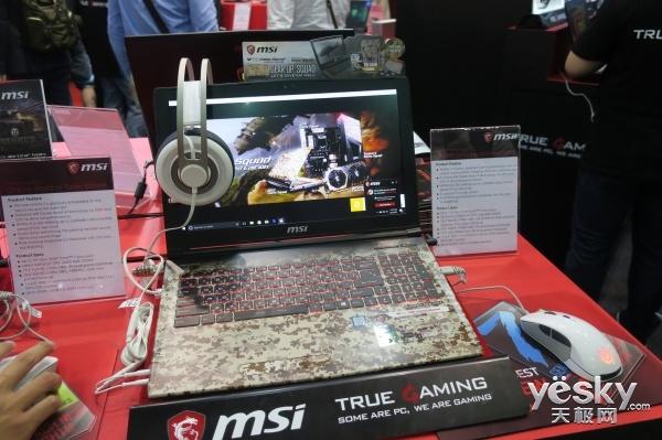Computex微星展台:怪兽级游戏本GT83VR亮眼