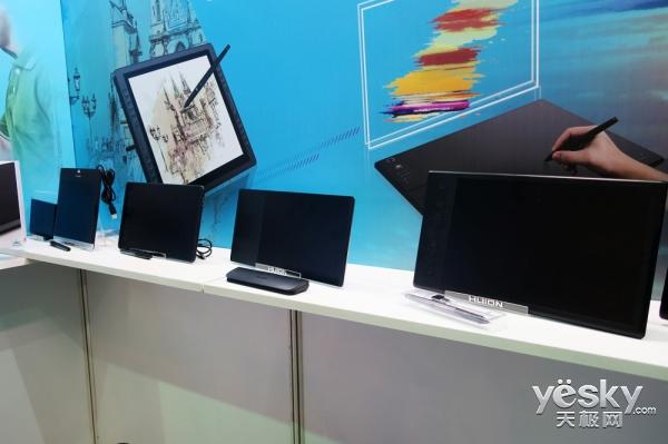 Computex2017:绘王展示多款高性能数位板