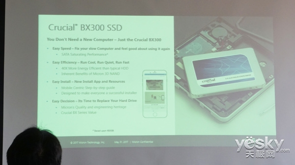 Crucial BX300 SSD及铂胜内存新品即将亮相