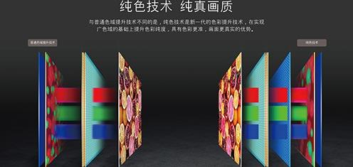 最大限度提升色域?解析电视新出的纯色技术