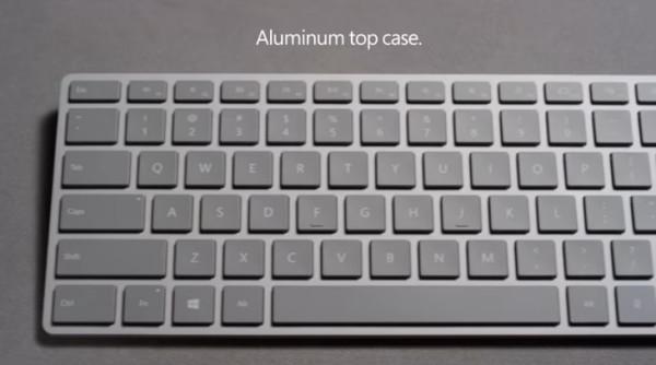 微软悄然发布新款键盘 Win键集成指纹识别