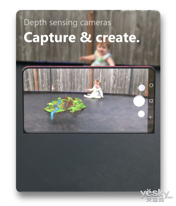 微软Surface Note概念机亮相:可折叠全面屏