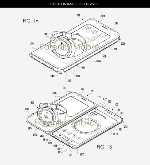 三星新专利:手机可为智能手表无线充电