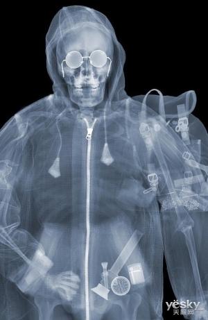 佳能曝2620万像素CMOS 安检机竟能透视人体