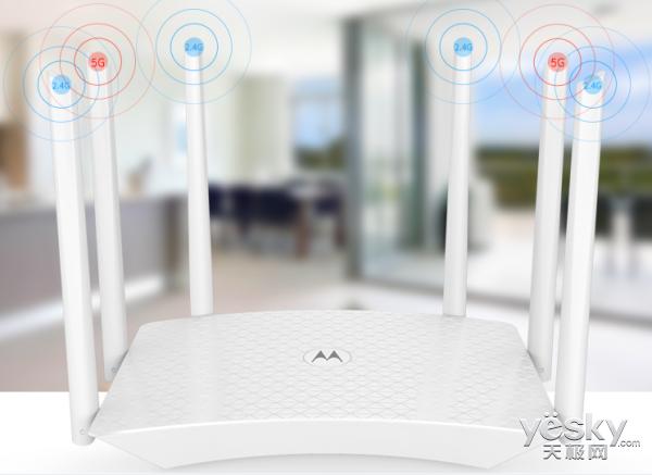专利5dBi全向5G天线 摩路由M2提供稳定信号