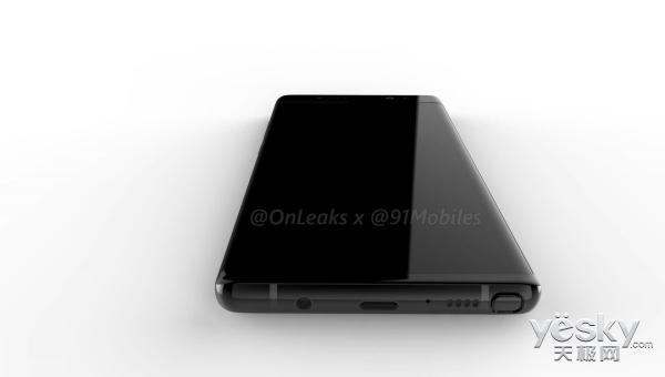 三星Note 8渲染图再曝光 无缘全面屏