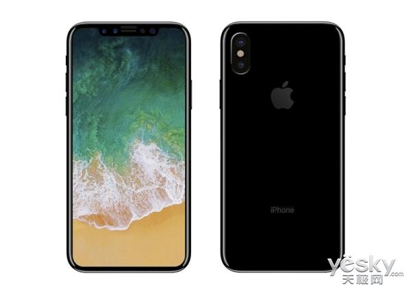 iPhone 8亮屏对比iPhone 7 全面屏太惊艳