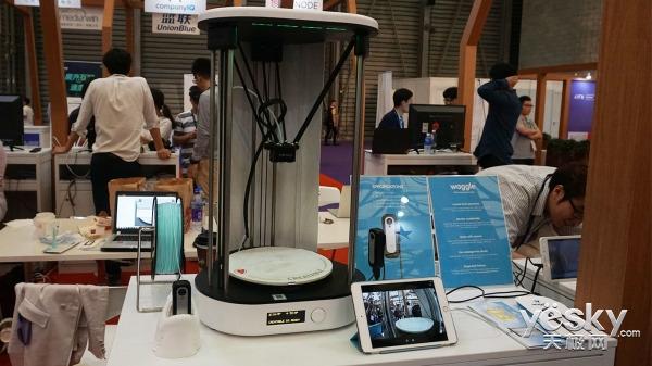 大邱科技园手机融合中心亮相2017MWC上海
