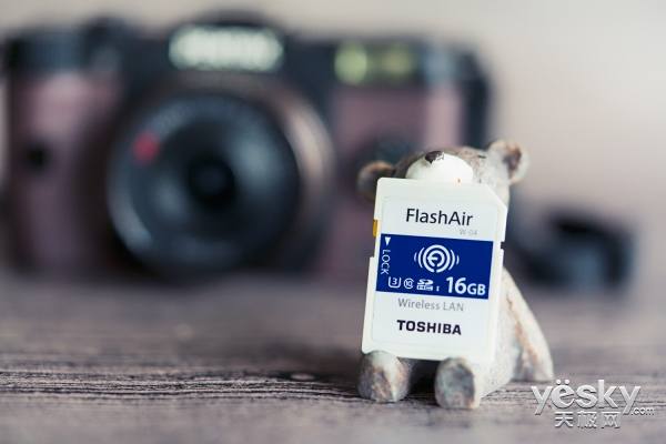 东芝 FlashAir 第四代无线SDHC存储卡评测