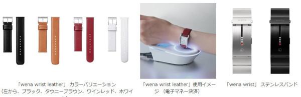 索尼发布Three Hands Square智能手表