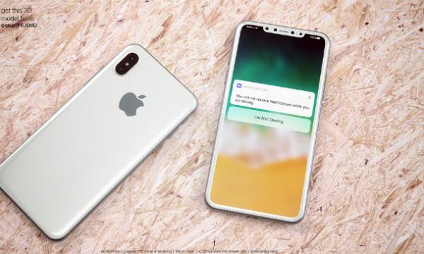 iPhone8十大预测出炉 Note8 CAD设计图再曝