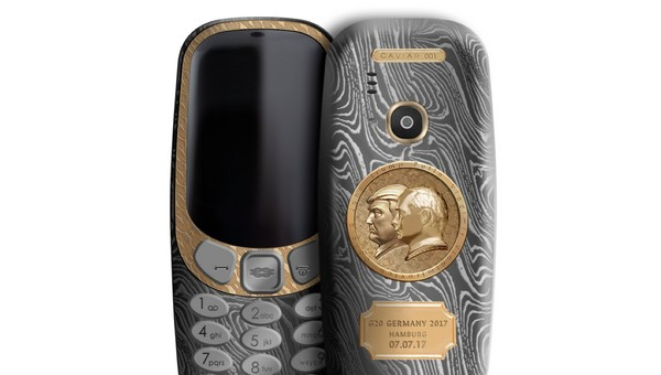 IT极热 特朗普-普京特别版诺基亚3310上市