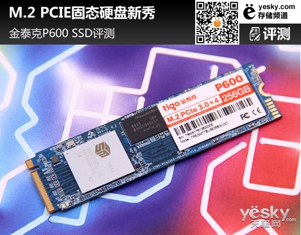 M.2 PCIE固态硬盘新秀 金泰克P600 SSD评测