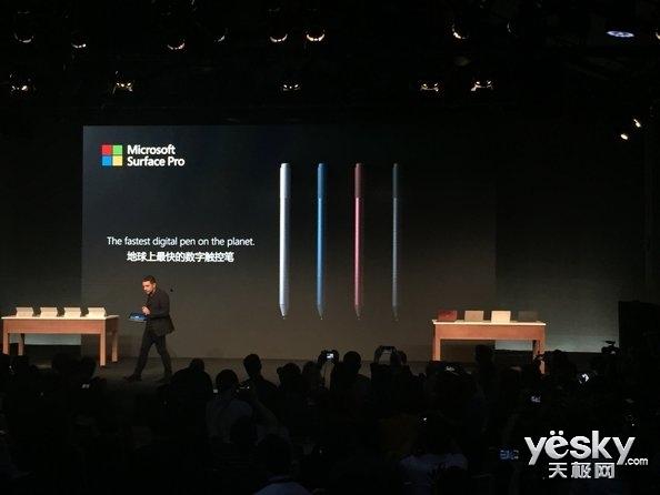 再等等!Surface Pen黑/蓝/红三款今夏开卖
