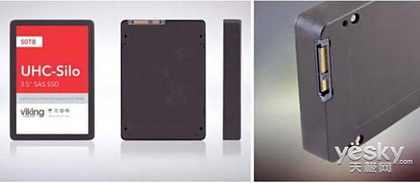全球首款50TB SSD诞生 还是MLC闪存