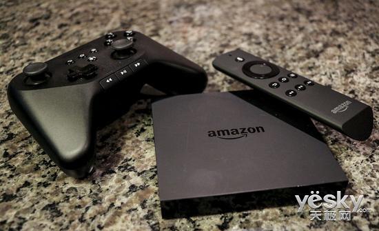 亚马逊升级Fire TV系统 Alexa语音控制电视