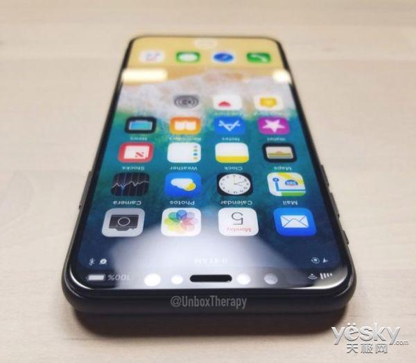 iPhone 8高仿真模型曝光 磨砂质感中框